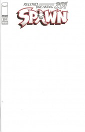 Spawn #301 Cover Q Blank Sketch