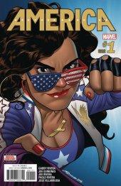 America #1 2nd Printing Variant