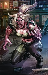Van Helsing Vs. League Monster #2 Cover D Pasibe
