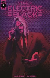 Electric Black #4 Cover B Neon Variant