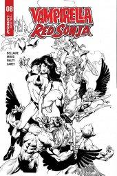 Vampirella / Red Sonja #8 1:7 Incentive - Castro