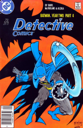 Detective Comics #578 Newstand Edition