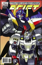 The Transformers: Drift #3 10 Copy Incentive Variant