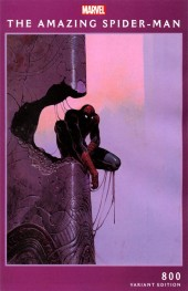 The Amazing Spider-Man #800 Moebius Variant A