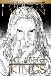 A Game of Thrones: Clash of Kings #15 1:10 Miller B&w Cover