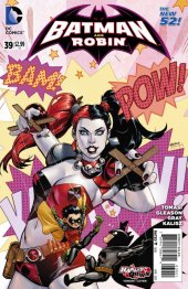 Batman and Robin #39 Harley Quinn Variant
