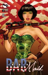 B.A.R. Maid #3 Cover B Franchesco