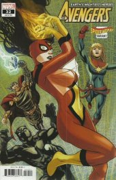 Avengers #32 Spider-Woman Variant Edition
