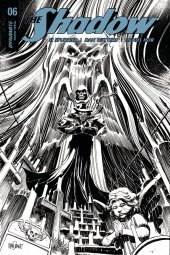 The Shadow #6 Cover F 1:30 Mandrake B&w Incentive