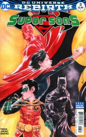 Super Sons #3 Variant Edition