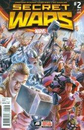 Secret Wars #2 3rd Printing Ross Variant