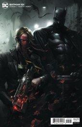 Batman #101 Batman/Grifter Card Stock Variant Edition