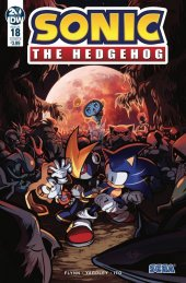 Sonic the Hedgehog #18 Cover B Skelly