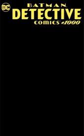 Detective Comics #1000 Scorpion Comics Exclusive Black Blank Sketch Variant