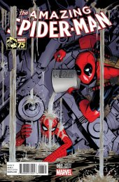 The Amazing Spider-Man #7 Deadpool 75th Anniv Variant