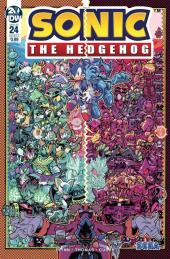 Sonic the Hedgehog #24 Original Cover