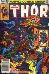 The Mighty Thor #320 Newsstand Edition