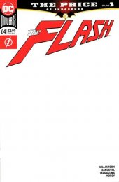 The Flash #64 Blank Variant Edition