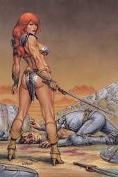 Red Sonja #17 Linsner Ltd Virgin Cover