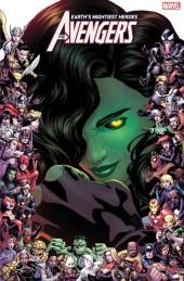 Avengers #23 Marvel 80th Anniversary Frame Variant