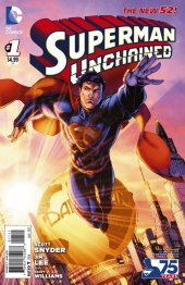 Superman Unchained #1 Booth Cover