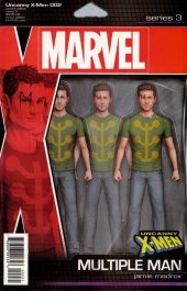 Uncanny X-Men #2 Christopher Action Figure Variant