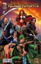Grimm Fairy Tales Presents Realm Knights #1 Cover D Reyes