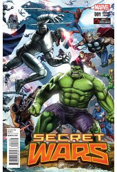 Secret Wars #1 GameStop Variant