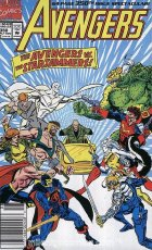 The Avengers #350 Newsstand Edition