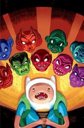 Adventure Time 2013 Spoooktacular #1 1:15 Virgin Variant
