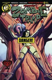Zombie Tramp #55 Cover B Winston Young Risque