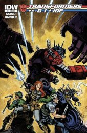 Transformers vs. G.I. Joe #6 Subscription Variant