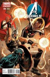 Avengers World #5 Captain America Team-Up Variant