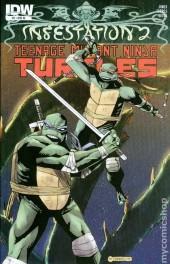 Infestation 2: Teenage Mutant Ninja Turtles #2 10 Copy Variant