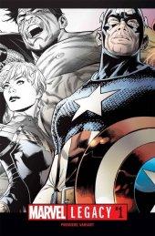 Marvel Legacy #1 Joe Quesada Incentive Variant