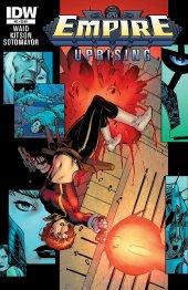 Empire Uprising #2 Original Cover