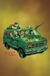 Kidz #5 1:10  Gorillaz Album Parody Foil