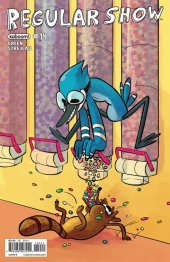Regular Show #14 Subscription Mcalarney Variant