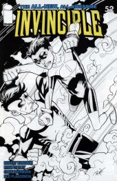 Invincible #52 Sketch Variant Cover