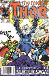 The Mighty Thor #353 Newsstand Edition
