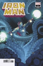 Iron Man #1 Silva Launch Variant