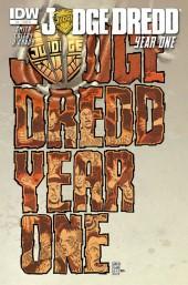 Judge Dredd: Year One #4 Cover RI