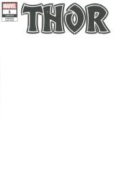 Thor #1 Blank Variant
