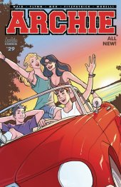 Archie #29 Cover C Woods Car