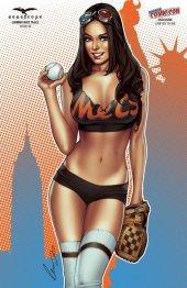 Grimm Fairy Tales #20 New York Comic Con Exclusive New York Mets Elias Chatzoudis Variant Cover