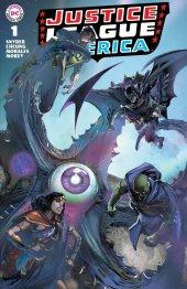 Justice League #1 Clayton Crain Variant A