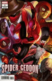 Spider-Geddon #1 InHyuk Lee Connecting Variant