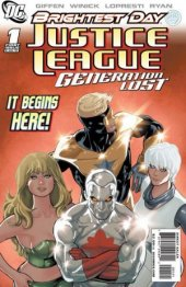 Justice League: Generation Lost #1 Variant Edition