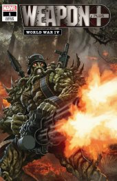 Weapon Plus: World War IV #1 Variant Cover
