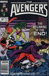 The Avengers #296 Newsstand Edition